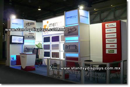 stands modulares df